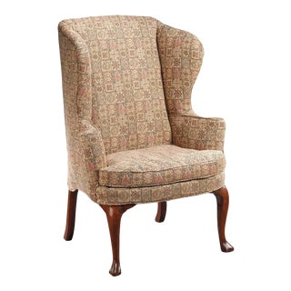 18th Century Irish Wingback Chair For Sale
