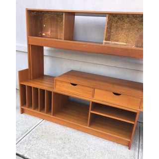 1960s Scandinavian Modern Vemb Mobelfabrik Danish Wall Unit Preview