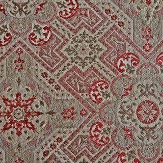 Highland Court Segment Woven Designer Fabric by the Yard For Sale