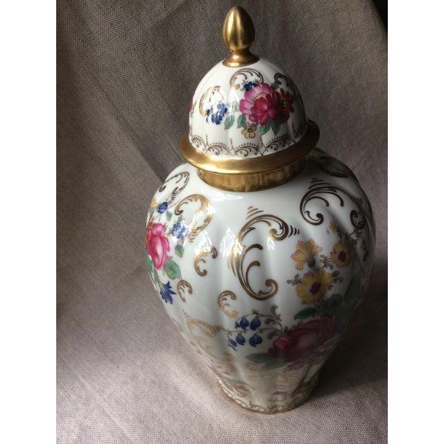 Antique Austrian Porcelain Temple Jar For Sale - Image 12 of 13