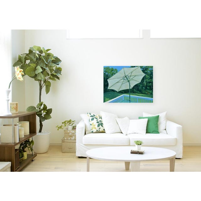 """Contemporary Painting, """"Summer on the Back Deck"""", by Stephen Remick For Sale - Image 12 of 13"""