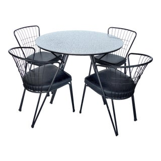 Mid-Century Dining Set For Sale