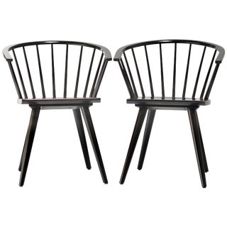 Russel Wright Conant Ball Captains Dining or Side Chairs - a Pair For Sale