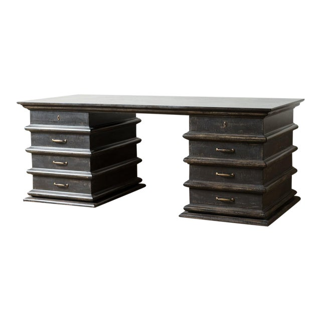 Modern Artisan Italian Desk For Sale
