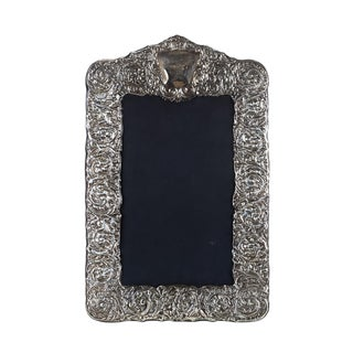 Sterling Silver Picture Frame For Sale