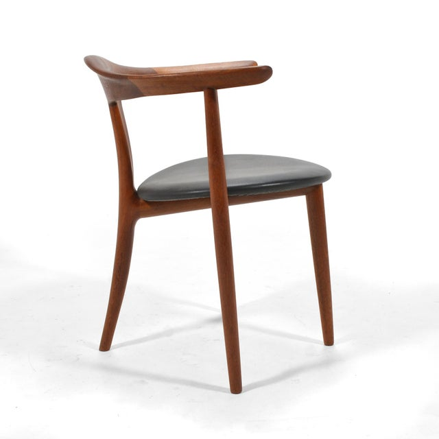 Brown Erik Andersen and Palle Pedersen Pair of Rare Easy Chairs For Sale - Image 8 of 12