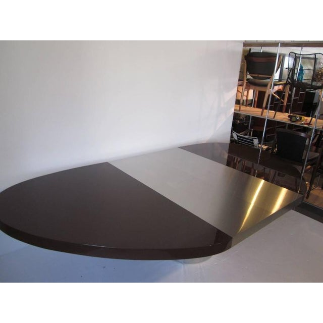 Fine Paul Evans Directional Elliptical Dining Or Conference Table - Elliptical conference table