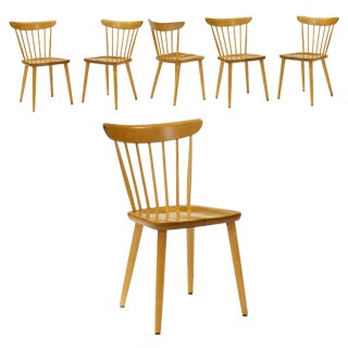 1960s Vintage Lena Larsson Dining Chairs- Set of Six For Sale