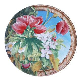 Gien France Volupte Cake Plate For Sale