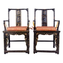 Image of Chinese Club Chairs