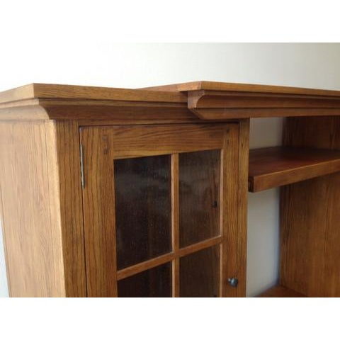 Solid Wood Entertainment Center - Image 6 of 7