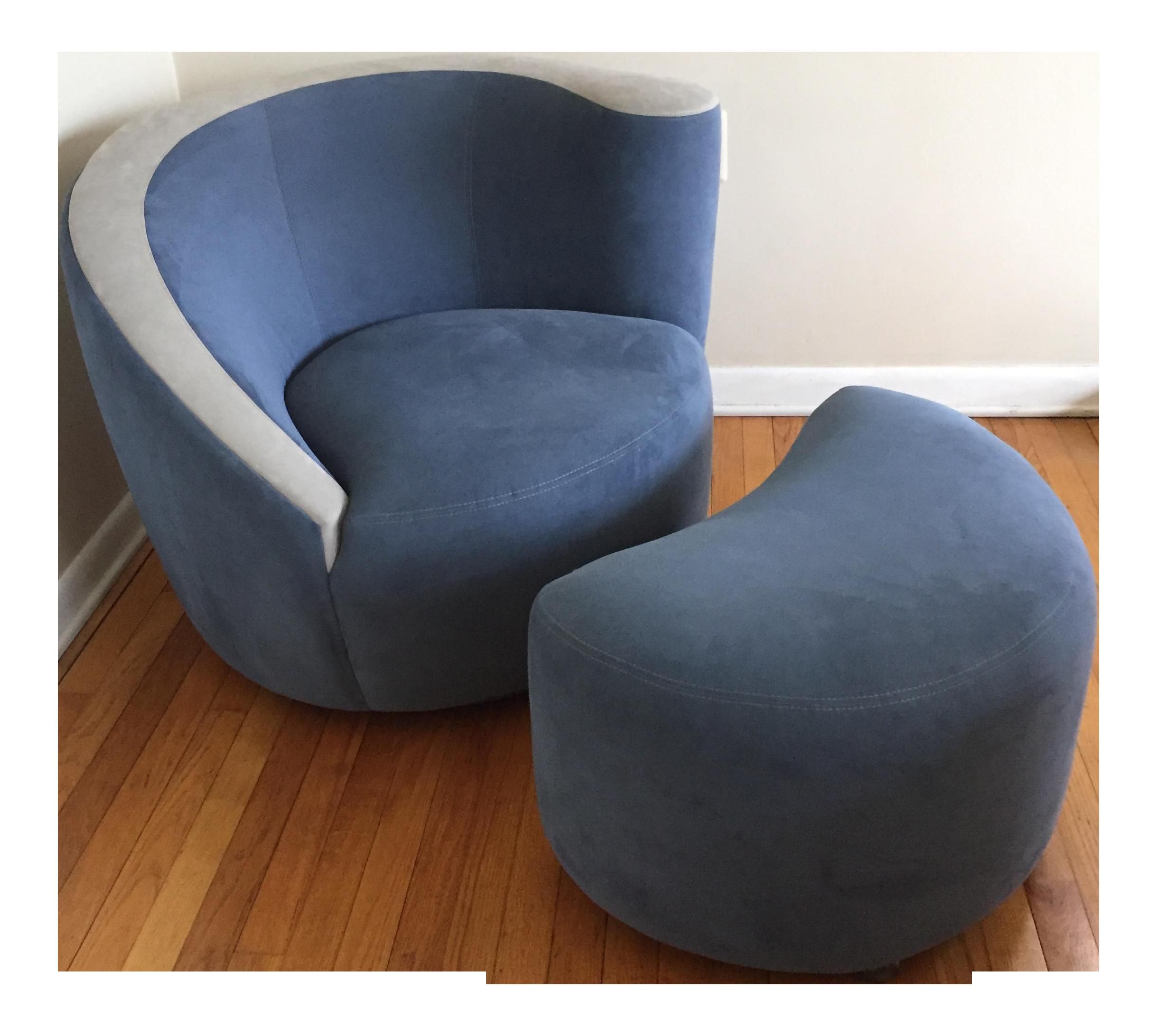 Vladimir Kagan Chair U0026 Ottoman