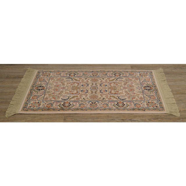 "Traditional Karastan Tabriz 2'6""x4'3"" Throw Rug (A) For Sale - Image 3 of 12"