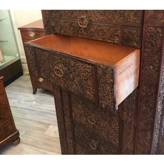 Carved 19th Century Anglo-Indian Chest of Drawers Preview
