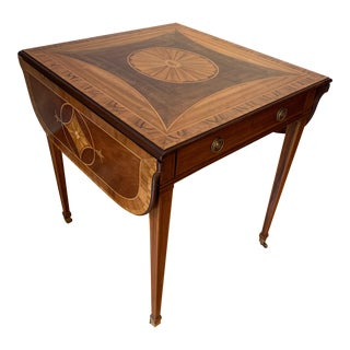 Baker Furniture Stately Homes Collection Pembroke Table For Sale