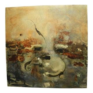 1990s Jospeh Maruska Oil on Board Painting For Sale