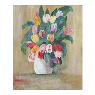 Tulips Still Life Painting For Sale