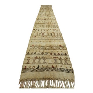 Vintage Turkish Kilim Runner- 2′2″ × 13′11″ For Sale