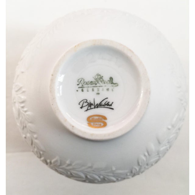 Rosenthal White China Bowl - Image 8 of 8