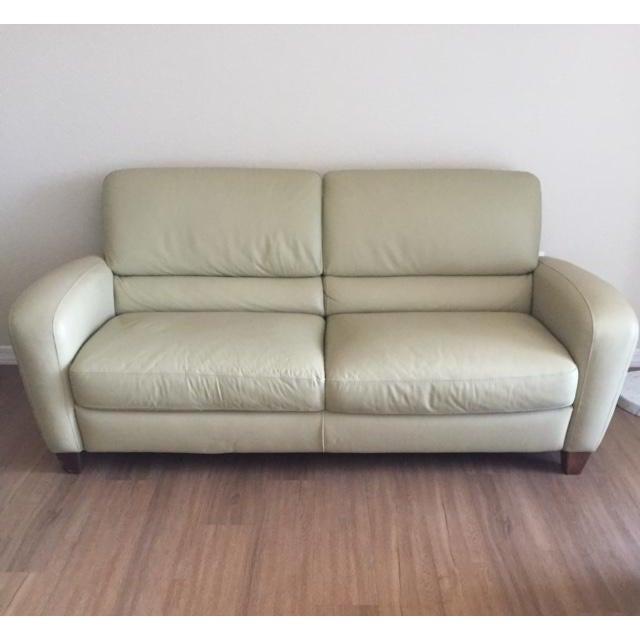 Italsofa Leather Sofa - Image 2 of 3