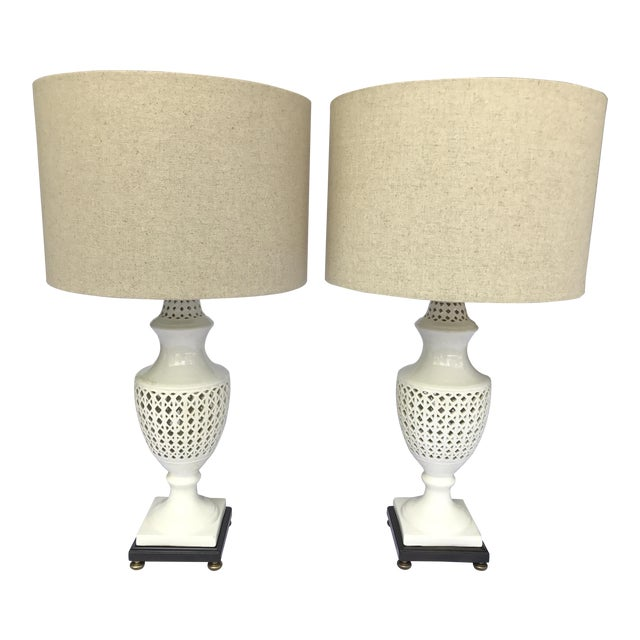 Chinoiserie Frederick Cooper Signed Table Lamps - A Pair - Image 1 of 8