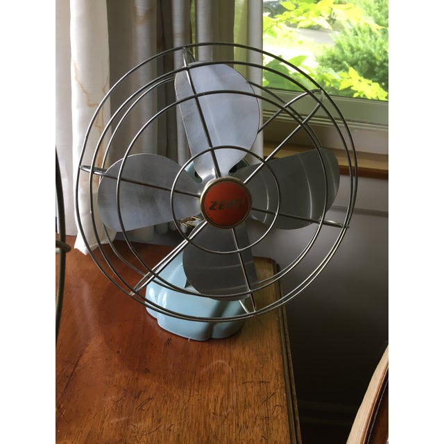 these fabulous working desk fans are right out of a 1950's movie! Emerson Electric and Zero fans use as conversation...