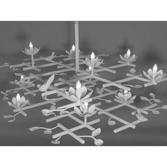2 Layer Garden Chandelier For Sale In New York - Image 6 of 13
