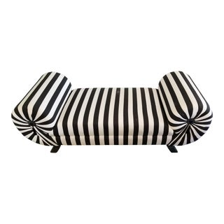 Black and White Bench For Sale