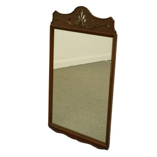 Duncan Phyfe Rway Furniture Solid Mahogany Dresser / Wall Mirror For Sale