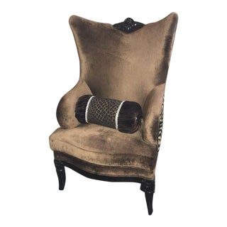 Bellagio Interiors Wingback Accent Chair
