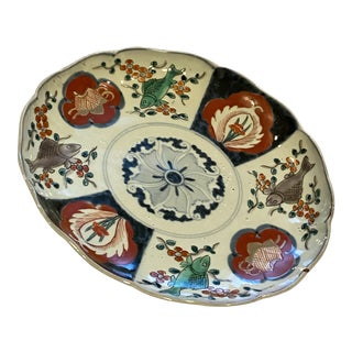 19th Century Imari Plate or Charger For Sale