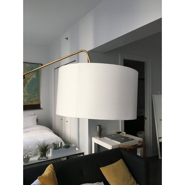 Mid-Century Style Arc Floor Lamp - Image 4 of 5