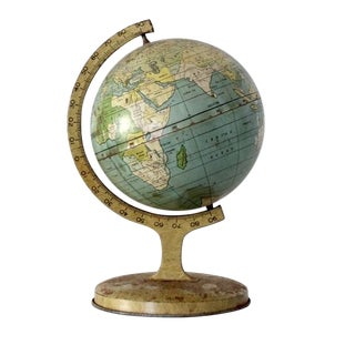 1920s J. Chein Tin Globe