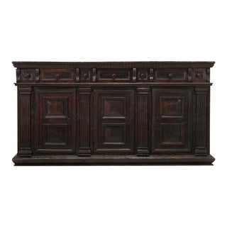 1600s Northern Italian Buffet or Credenza For Sale