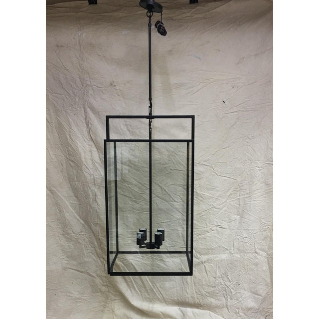 Metal Halle Medium Lantern by Ian K. Fowler for Visual Comfort For Sale - Image 7 of 7