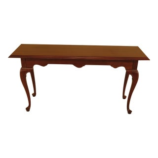 Ethan Allen Georgian Court Cherry Sofa Table For Sale