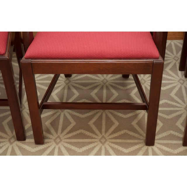 Chippendale Style Mahogany Dining Chairs - S/8 - Image 9 of 10