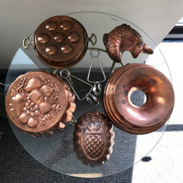 Copper Copper Escargot Kitchen Collection - Set of 7 For Sale - Image 8 of 8