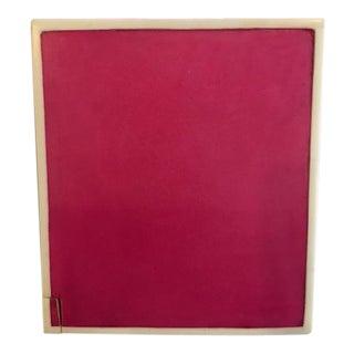 Pink Parchment Tissue Box