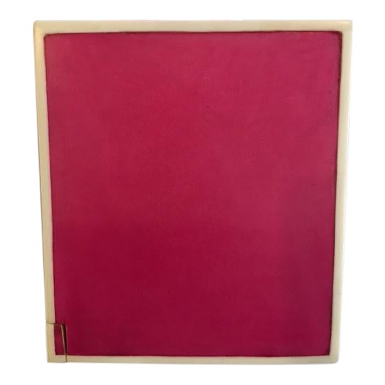 Pink Parchment Tissue Box - Image 1 of 3