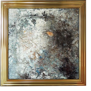 1980s Jamali Original Artwork, Fresco For Sale