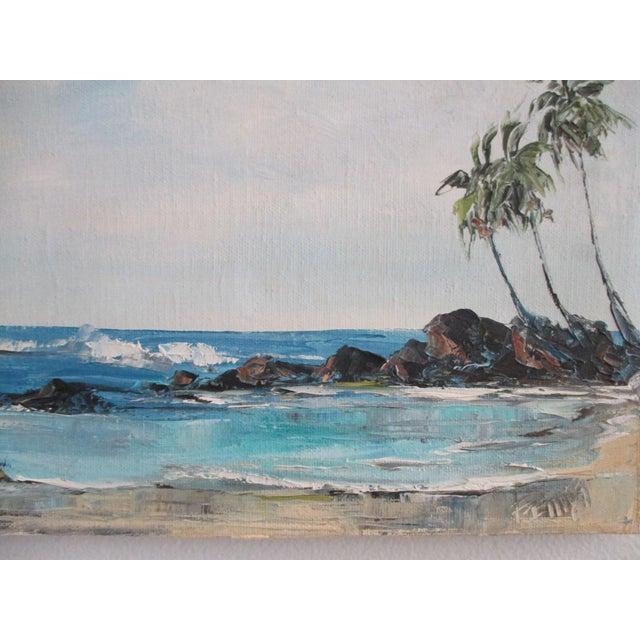 California Plein Air Seascape Painting - Image 3 of 9