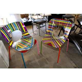 Mauro Oliveira Stylized Side Chairs - a Pair Preview