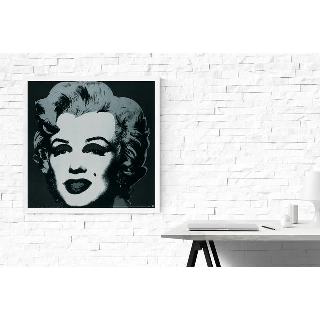 Andy Warhol- Marilyn Black #24: Second edition printing of Warholメs Black Marilyn #24 (1967) published in 1989 by Te Neues...