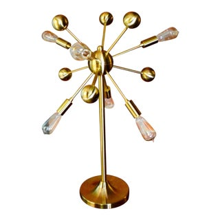 Brass Sputnik Lamp For Sale
