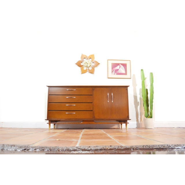 Mid Century Modern Credenza or Sideboard by Lane Copenhagen For Sale - Image 10 of 10
