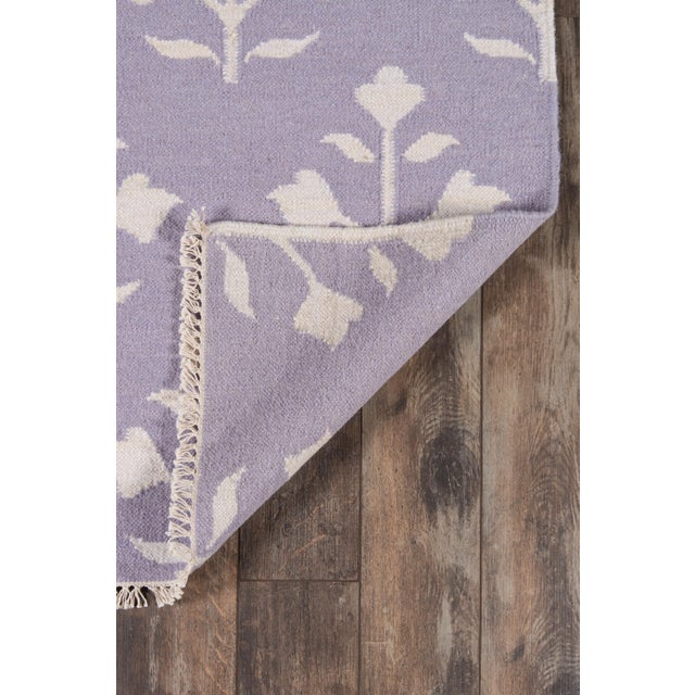 "Contemporary Erin Gates Thompson Grove Lilac Hand Woven Wool Area Rug 7'6"" X 9'6"" For Sale - Image 3 of 5"