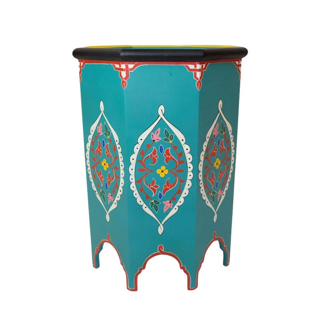 Tangier Artisan Side Table - Image 1 of 3