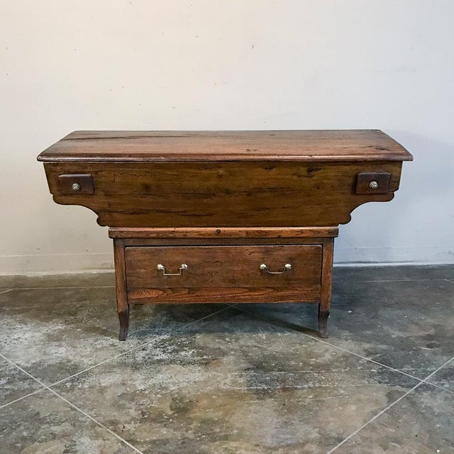 200 Year Old Directoire Period French Doughbox ~ Buffet For Sale - Image 4 of 12