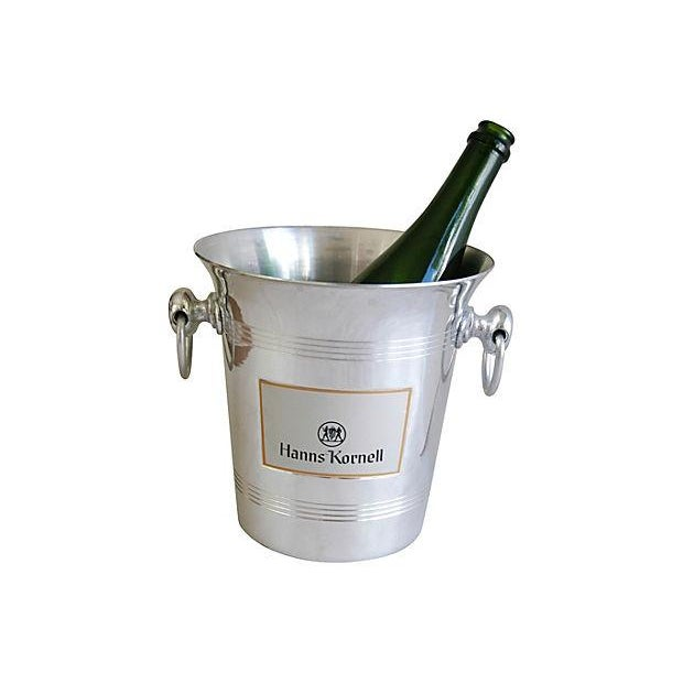 French Vintage French Hanns Kornell Champagne Bucket For Sale - Image 3 of 7